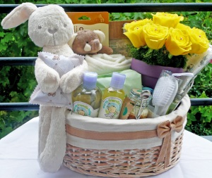 Baby's ultimate hamper
